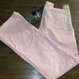 Z. Cavaricci pink corduroy pants